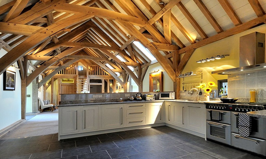 Renovated Barn Kitchen