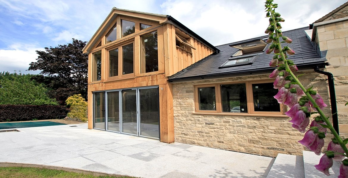 Wood and Glass Extension