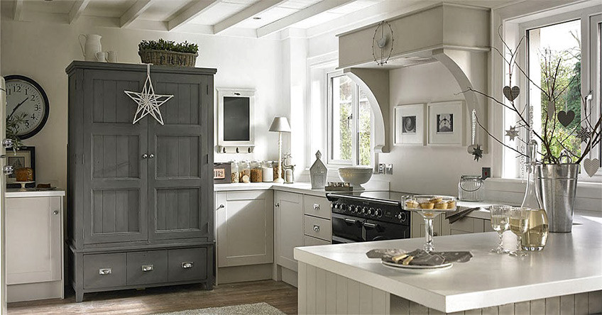 Eight Types of White for Kitchen