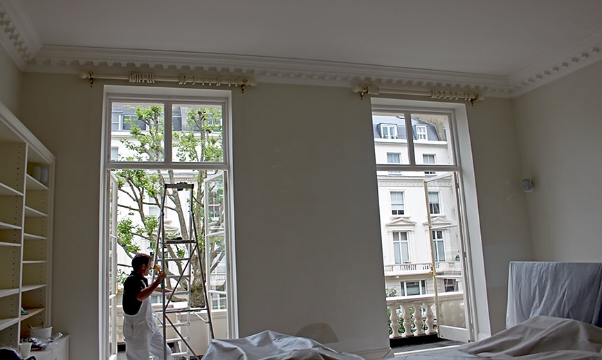 Decorating a London Apartment