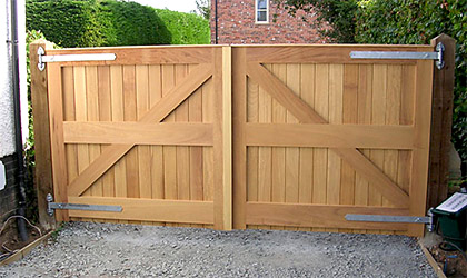 New Wooden Gates